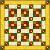 Disappearing Nine Patch Quilt Block Tutorial | Always
