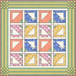 BABY CRIB QUILT PATTERNS « Free Patterns
