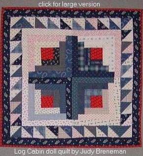 Log Cabin Lap Quilt Free Pattern Download from