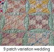 story of the wedding ring quilt