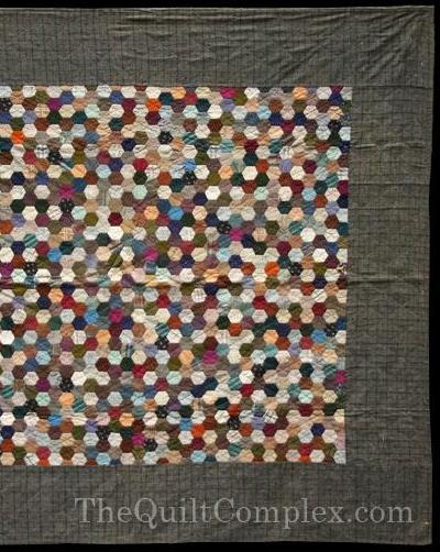 Grandmothers Flower Garden Quilt, Honeycomb & Hexagon Quilts : honeycomb quilt - Adamdwight.com
