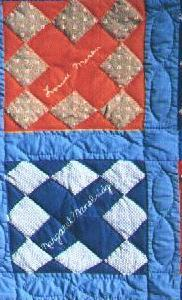 Friendship Quilts Memories Signature Quilt History