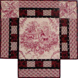 Framed Medallion Quilts When Amp How They Were Made
