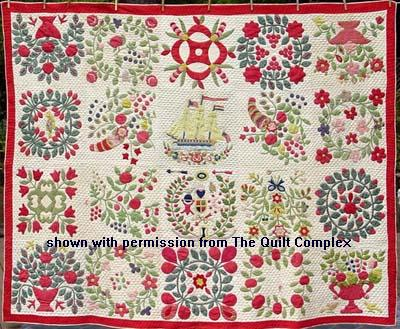 Baltimore Album Quilt The Finest Of Autograph Sampler Quilts